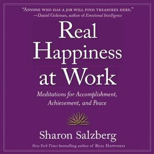 [英文audiobook音频+文本] Real Happiness at Work: Meditations for Accomp...